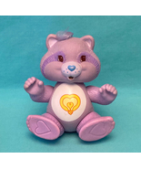 Vintage Kenner Care Bears Cousins Bright Heart Raccoon poseable PVC toy ... - $12.00