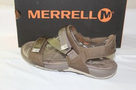 "MERRELL ""TERRANT"" STRAP MEN'S SANDALS, SIZE 10, COLOR: BRINDLE, J91513 - $49.94"