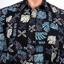 Cooke Street Honolulu Hawaiian Aloha Shirt Mens L Monstera Tapa Print - $23.36