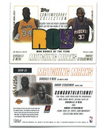 Shaquille O'Neal/Amare Stoudemire 2003-04 Topps Rookie of the Year Game ... - $39.95