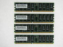 8GB (4X2GB) MEMORY FOR IBM ESERVER XSERIES 225 8447 8649