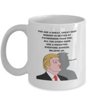 Republican Dad Mug, Funny Father Gift Cup, 11oz White Ceramic Coffee, Te... - $14.84