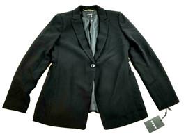 new DKNY women dress jacket Artisan Chic DU8D1253 black 8 MSRP $129 - $38.99