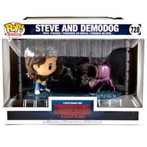 Funko Pop Television Stranger Things Steve and Demodog #728 Vinyl Figures image 1