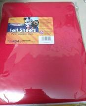 Chenille Kraft One Pound Felt Sheet Pack, Rectangular, 9 x 12, Assorted ... - $14.84