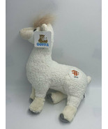 NWT Goffa Mills Fleet Farm White Llama Alpaca Plush Stuffed Animal 2019 - $24.99