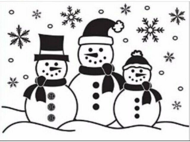Darice 3 Snowmen Embossing Folder