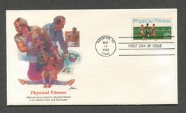 May 14 1983 FDC Physical Fitness Stamp #2043 Fleetwood - $3.99