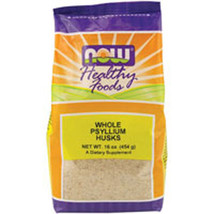 Psyllium Husk, WHOLE, 1 Lb by Now Foods - $5.84
