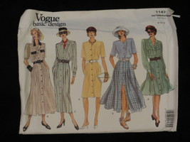 1993 Vogue Basic Design 1147 PATTERN Dress Size 8 10 12 - $7.69