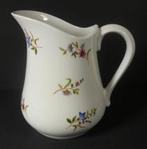 BIA Cordon Bleu Porcelain MARGOT Pitcher 32oz White Floral - $14.40