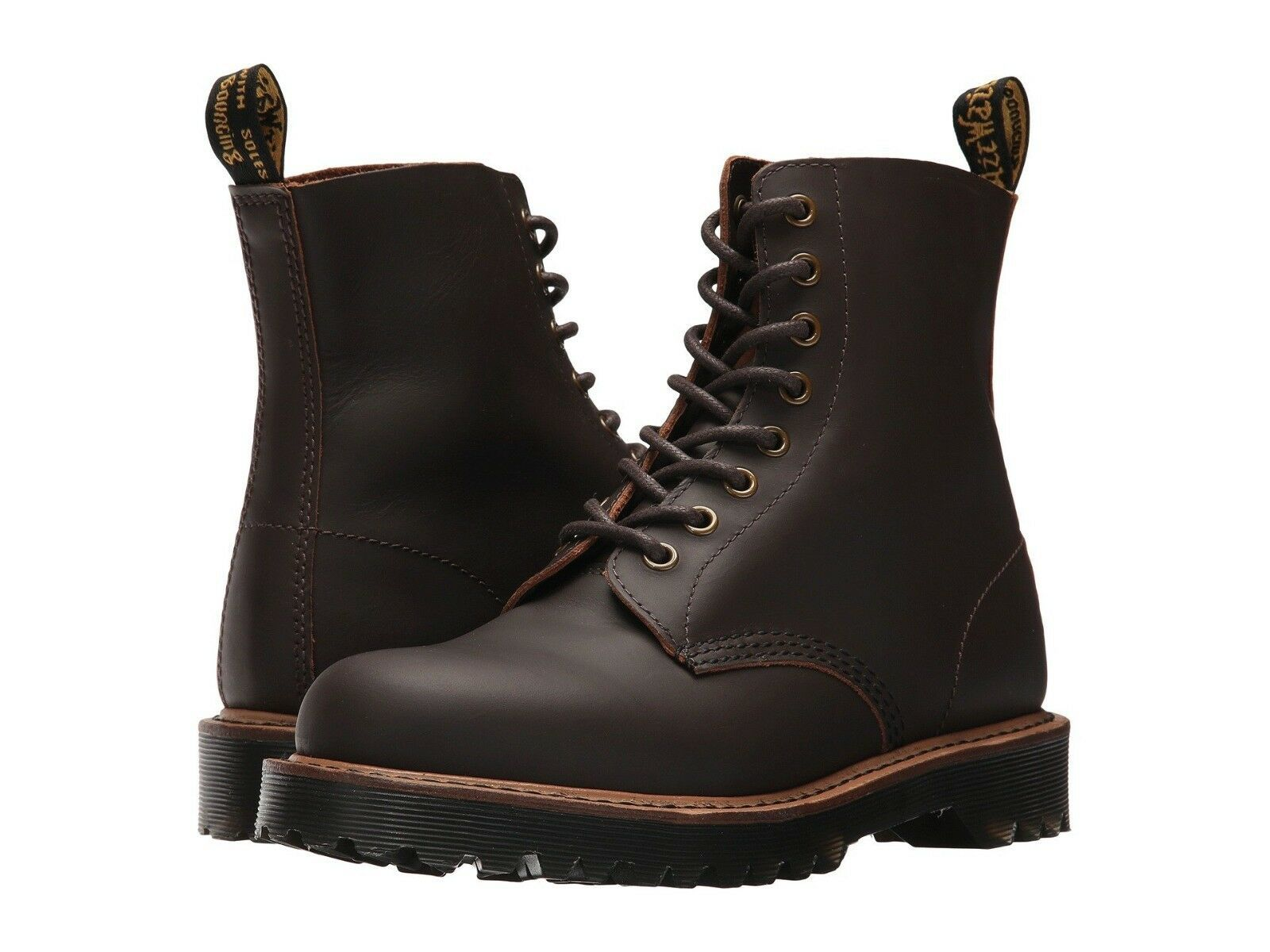 Primary image for Women's Dr. Martens 1460 Pascal II 8-Eye Boots, 22558201 Size 11 US Drk Brown