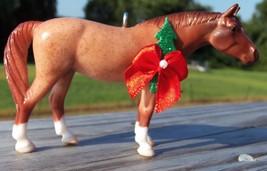 Custom Breyer Stablemate American Quarter Horse Red Roan Christmas Ornament #2 - $18.00