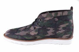 WeSC Lawrence Mi Haut En Noyer Camouflage Cuir Chaussures Nib image 4