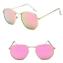 Fancy Women Vintage Mirror Oversized Sunglasses Metal Frame Luxury Retro... - $4.99