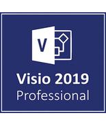 Microsoft Visio 2019 Professional 32/64 Bit Key & Download - $206,56 MXN