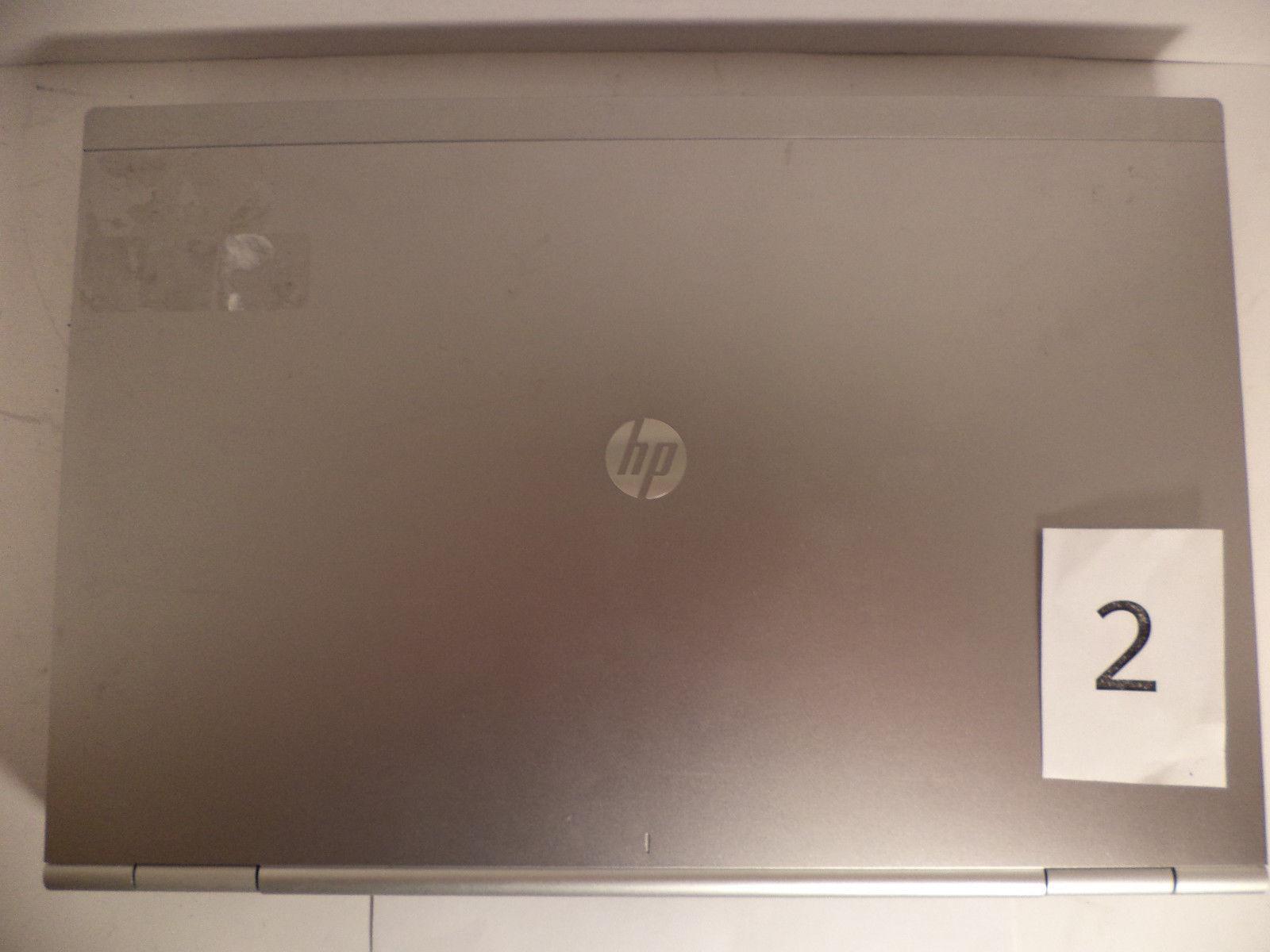 HP Compaq EliteBook 8570p i7 CPU Laptop 2 GB RAM No Hard Drive No OS Lot 3 AS-IS