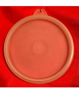 "Vintage Tupperware #733 Small Clear Round REPLACEMENT LID ""H"" Tupper-Sea... - $4.94"