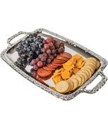 Sterlingcraft Rectangle Snack Horderves Appetizer Serving Party Platter ... - £14.21 GBP