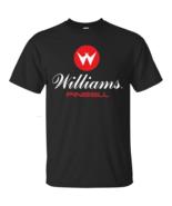 Williams, Pinball, Arcade, Video Game, Black T-shirt - $16.99