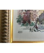 Kenneth Bromley Framed Art The Round Church Cambridge - $14.99