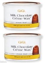 GiGi Milk Chocolate Creme Wax - Milk Chocolate 14 oz. Pack of 2