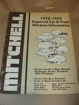 MITCHELL 1978/1979 IMPORTED CAR & TRUCK ADVANCE INFORMATION SERVICE & RE... - $7.99