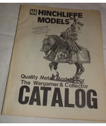 Vtg HINCHLIFFE Metal Models Wargamer Collector Miniature Toy Soldier Cat... - $8.99