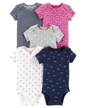 Carter's Little Baby Basics Girl's 5 Piece Bodysuits - $20.00
