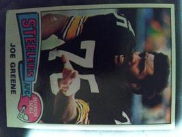 1975 NFL Topps #425 Pittsburgh Steelers JOE GREENE NM+ - $4.01
