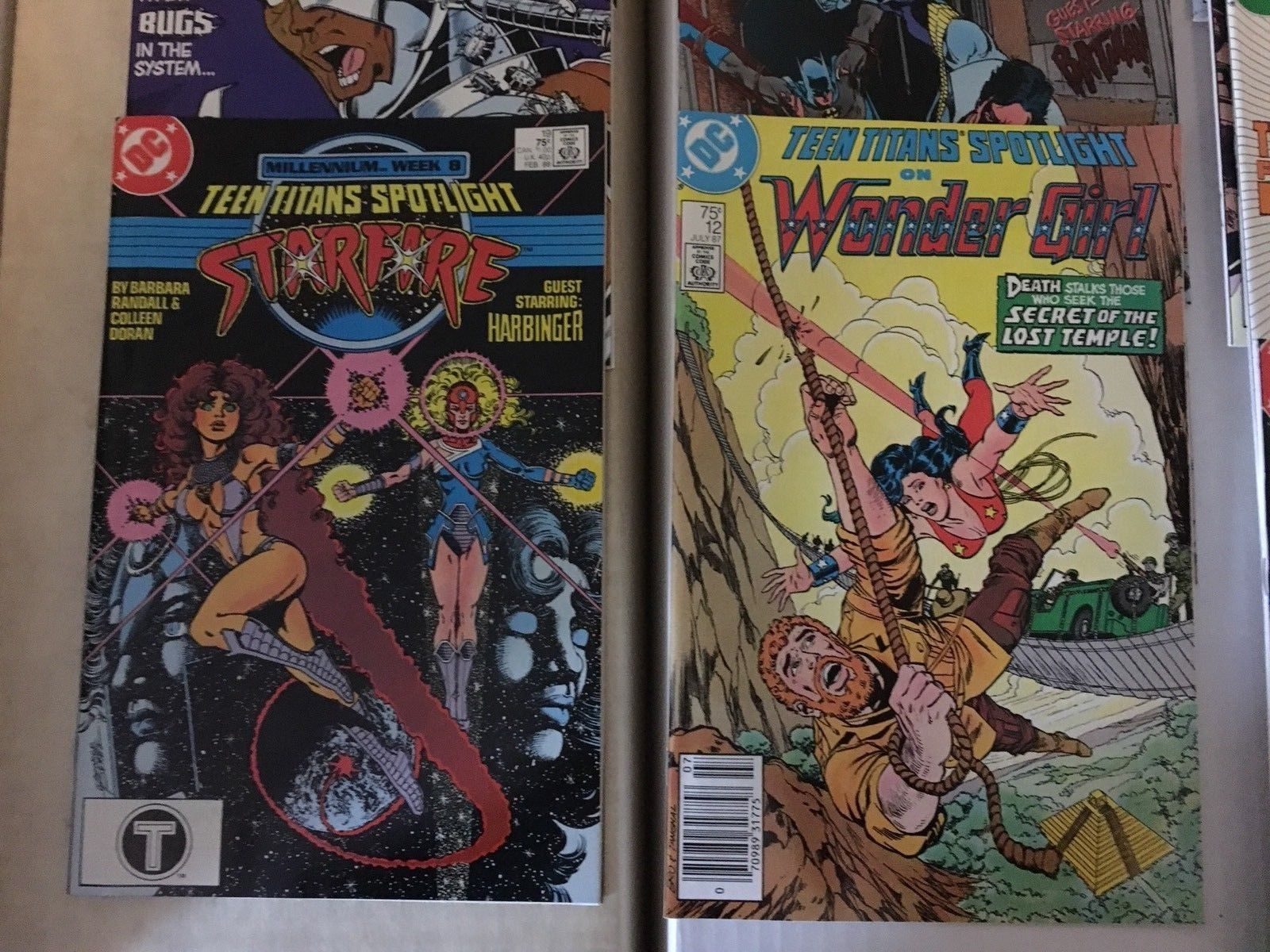 Teen Titans Spotlight #2 - 21 1986-88 VF/VF+ Condition DC Comic Book Lot Of 13
