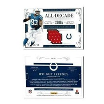 National Treasures All-Decade 2000s Dwight Freeney Gold Holo 2016 SN 32/99 - $19.79