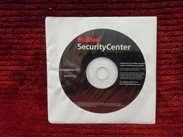 Mc Afee Security Center Reinstallation Cd 2005 New In Package Disc Only - $5.99