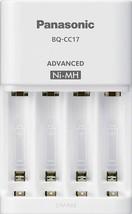 Panasonic BQ-CC17SBA eneloop Advanced Individual Battery Charger with 4 LED Char - $23.36