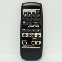 Sharp RRMCG0099AWSA Factory Original Audio System Remote CD-C422, CD-C2800 - $10.29