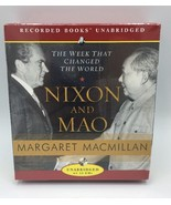 Nixon and Mao : The Week That Changed the World by Margaret MacMillan CD... - $17.99
