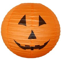"Just Artifacts 12"" Halloween Pumpkin Paper Jack O' Lantern Orange - €7,16 EUR"