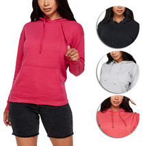 Women's Soft Lightweight Pull Over Sweatshirt Casual Drawstring Hoodie Sweater