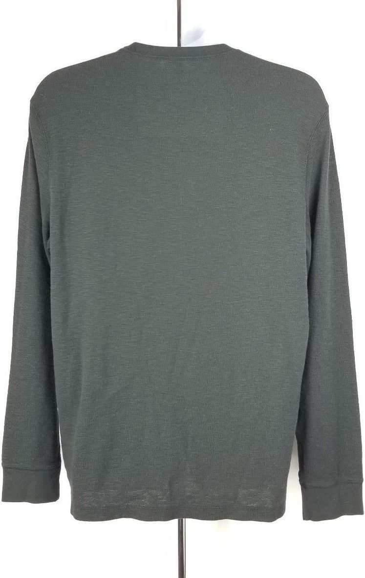 American Eagle Active Flex Long-Sleeve Shirt L Black Stretch
