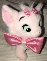 "8"" Marie Pink Cat Bow Disney Aristocats Plush Toy Duchess Kittens Mattel... - $12.86"