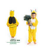 Children Kids Unisex Animal Bee Cosplay Costume Kigurumi Pajamas Sleepwe... - $14.99