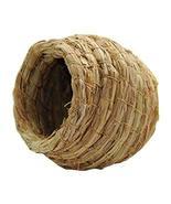 DRAGON SONIC Set Of 2 Outdoor Bird Nest Braided Birdcage Grass Nest Bird... - $19.99