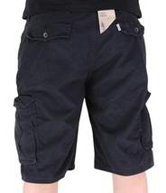 Levi's Men Premium Cotton Original Relaxed Fit Cargo Shorts Black 124630024