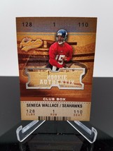 2003 Fleer Seneca Wallace #125 Rookie Authentix 009/100 - $4.46