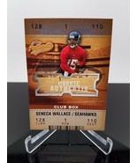 2003 Fleer Seneca Wallace #125 Rookie Authentix 009/100 - $4.46