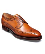 Handmade Men Tan color wingtip brogue formal Shoes, New Men Tan dress shoes - $169.99