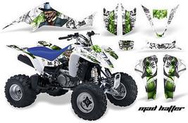 ATV Decal Graphic Kit Wrap For Suzuki LTZ400 Kawasaki KFX400 2003-2008 MAD G W - $168.25