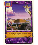Redemption CCG: Obedience of Noah - $0.85