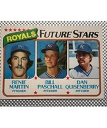 1980 Topps #667 Royals Future Stars (Quisenberry) - $1.93