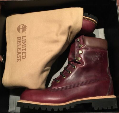 $500 Timberland Burgundy Horween Leather 8 and 34 similar items